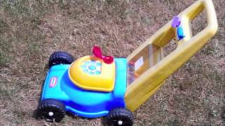 Kids Toy Lawn Mower Sets From John Deere Riding Mowers To Push Toys With Bubbles & Balls