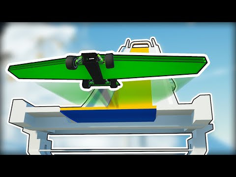 Who Can Build the Best Gravity Powered Ski Jump Glider? (Main Assembly Gameplay) |