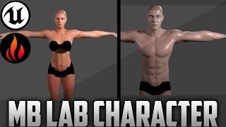Unreal Engine 4 - Manuel Bastioni Lab Character Creation #3