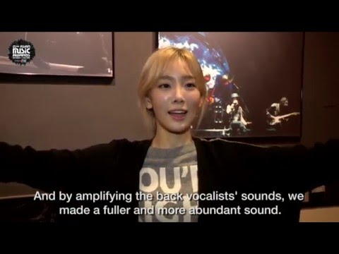 "Taeyeon Talks All About ""I"" Backstage!"