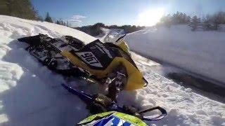 Ski-doo 600rs in deep snow