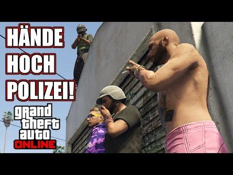 Polizeispiel: Grove Street macht Probleme #2491 GTA 5 Online YU91