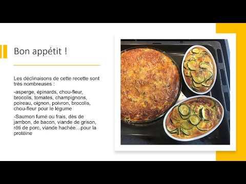 recette-diététique-quiche-sans-pâte-courgette-thon