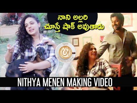 అ! Awe Movie Making Video   Nithya Menen  Kajal Aggarwal, Regina   Nani, Ravi Teja