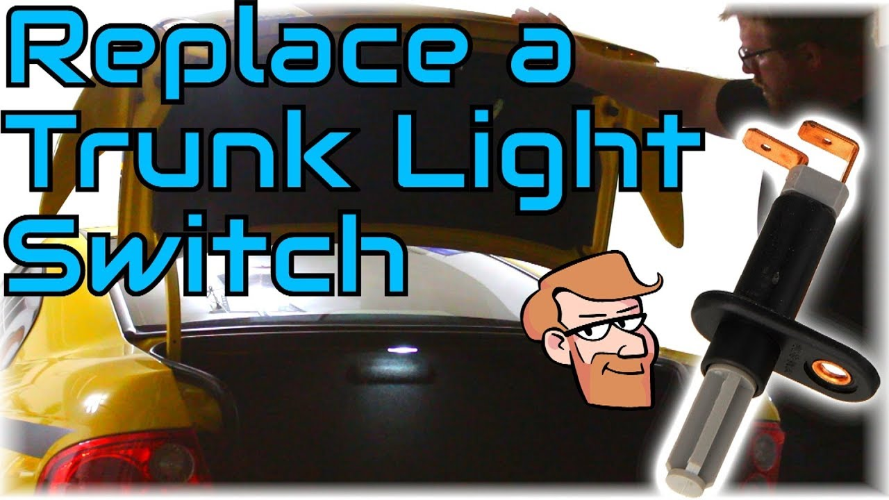 how to replace a trunk light switch with or without alarm cars simplified [ 1280 x 720 Pixel ]