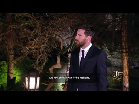 Lionel Messi interview in Egypt with English subtitles and Arabic translation  .. لقاء ليونيل ميسي