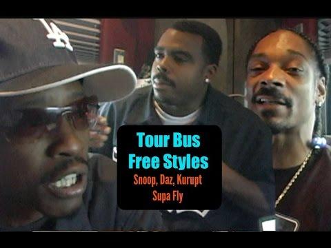West Coast Freestyles - Snoop, Daz, Kurupt & Supa Fly