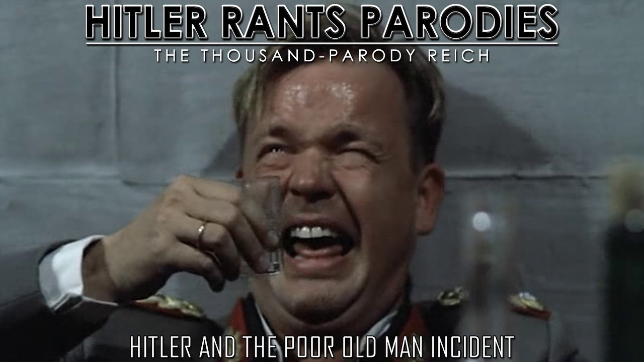 Hitler and the poor old man incident