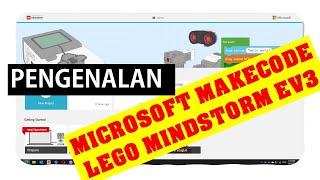 Asas Pengenalan Microsoft Makecode LEGO Mindstorm