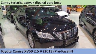 Toyota Camry 2.5 V [XV50] (2013) review - Indonesia