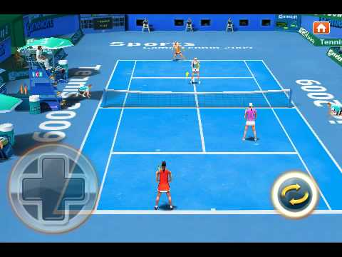 Real Tennis 2009  iPhone/iPod touch trailer by Gameloft