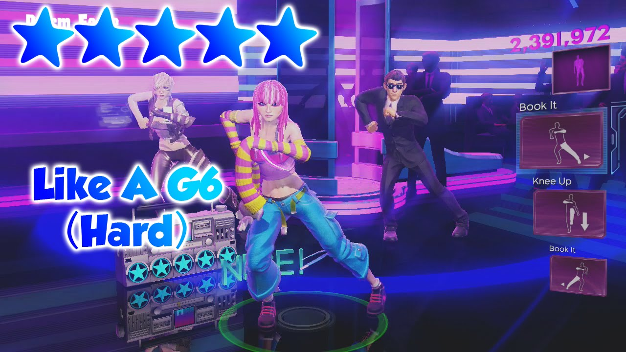 Dance Central 3 - Like A G6 (DC2 Import) - 5 Gold Stars ...