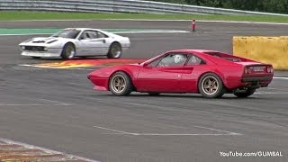 Ferrari 328 GTB / 308 GTB / 512 BBi - Sound on Track!