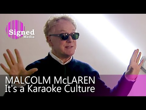 Malcolm McLaren - Interview for German Television, 2009