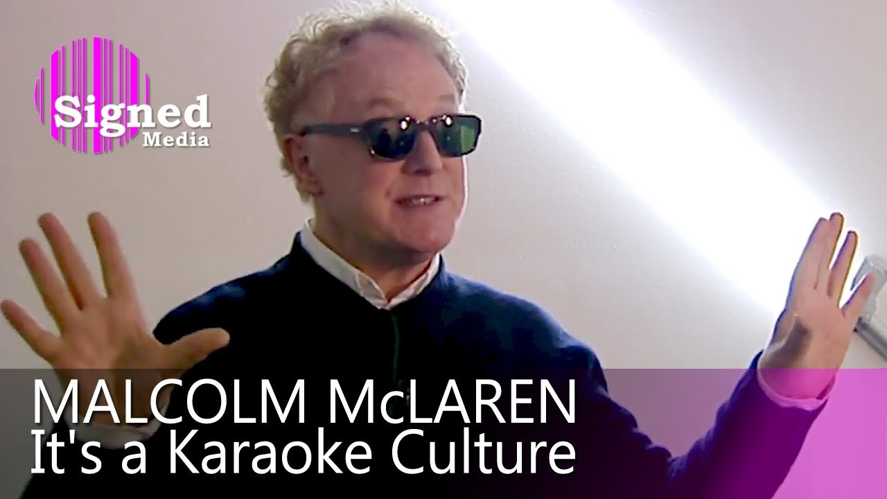 Malcolm McLaren - Interview for German Television, 2009 - YouTube