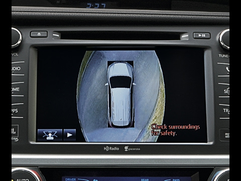 Toyota Bird S Eye View Camera Demonstration
