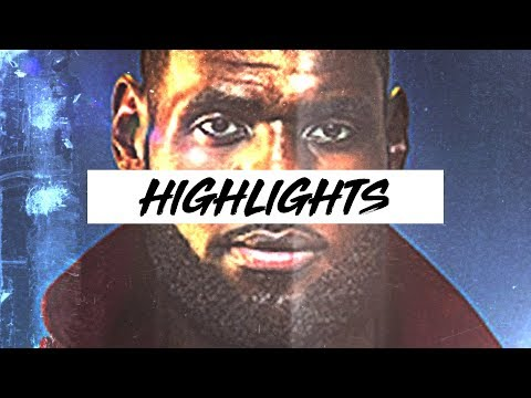 Best LeBron James Highlights ᴴᴰ - First Half of 17-18 Season
