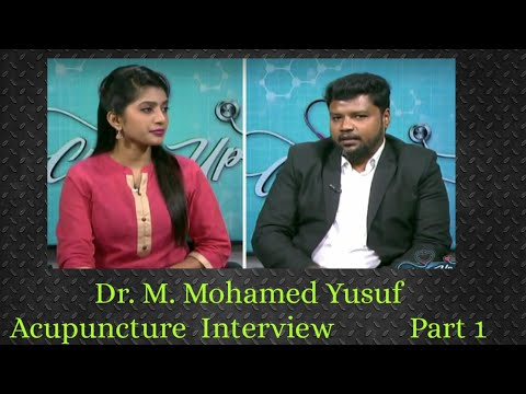 Dr. Mohamed Yusuf  Acupuncturist interview