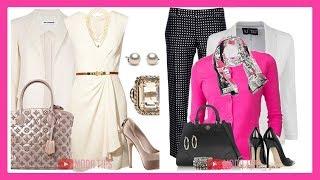 Outfits Casuales Elegante Para Señoras Modernas 50 a 70 años - ropa Otoño Invierno