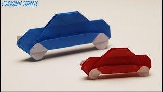 как сделать из бумаги машину оригами