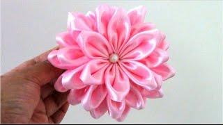 Flores Kanzashi de 36 pétalas – Audio espanhol
