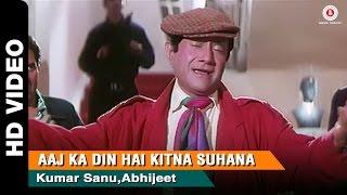Aaj Ka Din Full Video | Return of Jewel Thief (1996) | Devanand, Dharmedra & Jackie Shroff