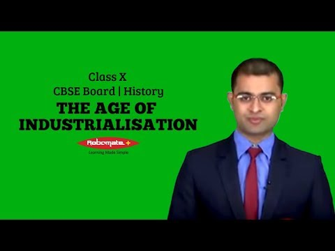 Class X | CBSE Board | History | The Age of Industrialisation