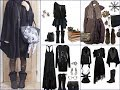 Top-30 Witchy Outfits  Ideas - Witch Inspired Black LookBook