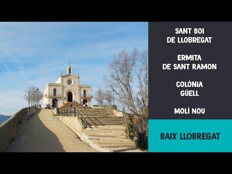 Sant Boi de Llobregat - ermita de Sant Ramon Colònia Güell - Molí Nou