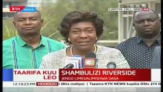 We will not be cowed into accepting defeat: Charity Ngilu, Gavana wa Kitui