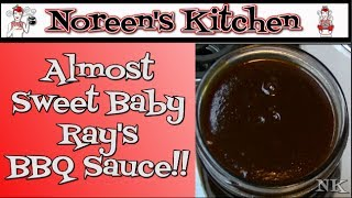 Almost Sweet Baby Ray's BBQ Sauce ~ Homemade BBQ Sauce Recipe ~ Noreen's Kitchen