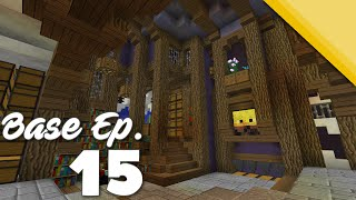 Minecraft Base Showcase Ep 15 Best Organic W Schematic