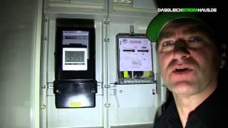 Video -- Skandal! Stromzähler drehen sich auch ohne Verbraucher!