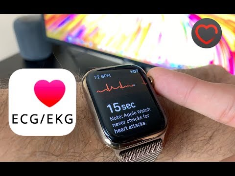 Apple Watch Series 4 EKG/ECG Demo - WatchOS 5.1.2 / Can the Apple Watch Save Lives?