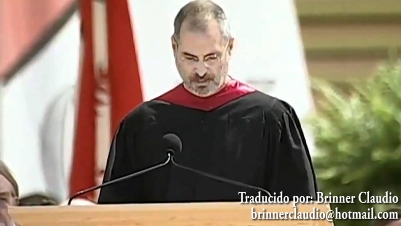 Discurso Completo De Steve Jobs Audio En Espanol Hd Youtube
