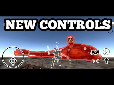Attack On Titan Android New Controls + SFX UPDATE (DOWNLOAD)