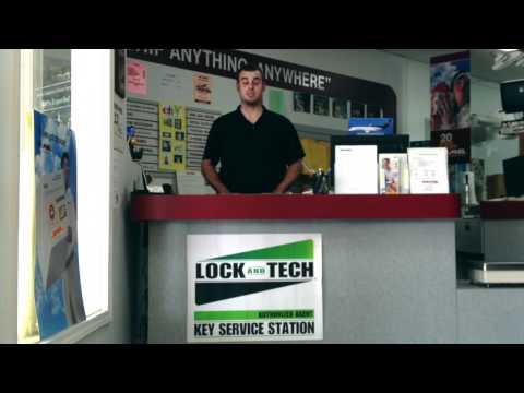Lock and Tech USA Authorized Key Service Station 30062