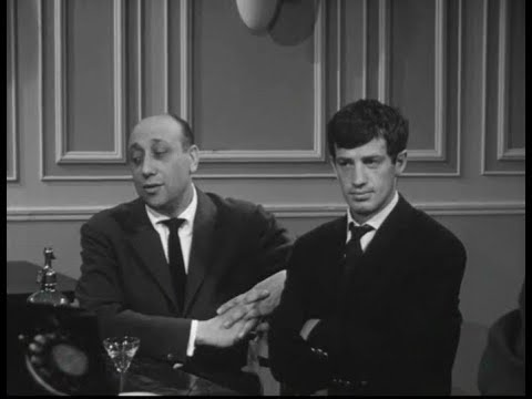 with JeanPierre Melville and Jean Paul Belmondo  Le doulos