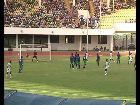 Sierra Leone u20 vs Ghana u20 2014 highlights