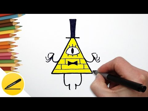 Как Нарисовать Билла из Гравити Фолз | Рисуем Гравити Фолз | Картинки своими руками