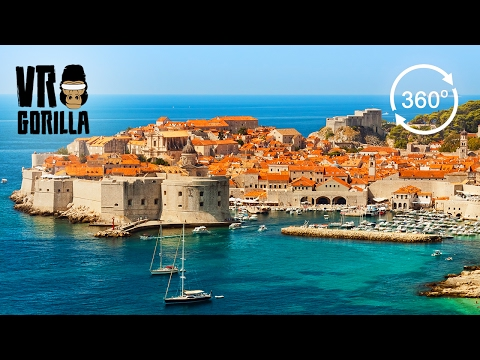 A Guided City Tour of Dubrovnik (360 VR Video)