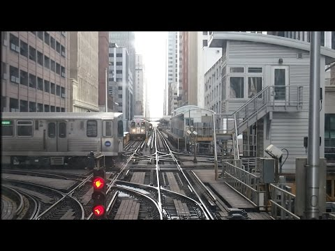 2015/02/14 Chicago 'L' Front View Counterclockwise | 【前面展望】 シカゴ 'L'  反時計回り