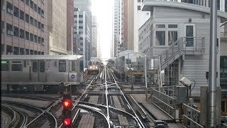 2015/02/14 Chicago 'L' Front View Counterclockwise | 【前面展望】 シカゴ 'L'  反時計回り thumbnail