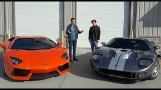 Lamborghini Aventador vs. Ford GT: Which Used Supercar is a Better Way to Spend $300,000?
