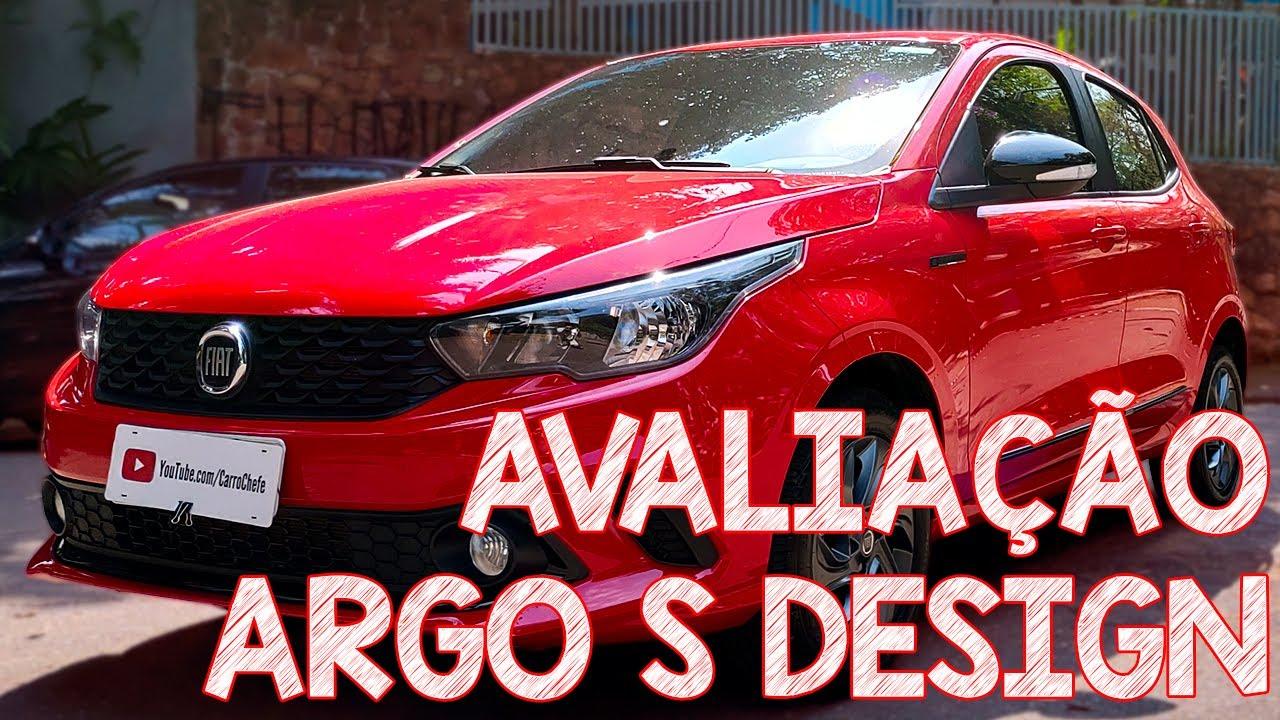 Avaliação Fiat Argo S Design 1.3 2020 - É bonito, anda bem, mas...