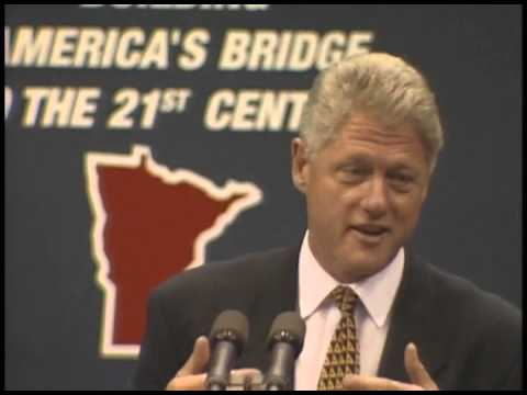 Pres. Clinton's Remarks in St. Paul, Minnesota (1996)