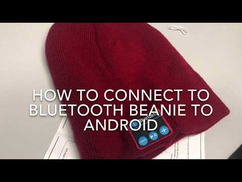 How to Connect Bluetooth Beanie to Android