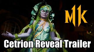 MORTAL KOMBAT 11 Cetrion Reveal Trailer (MK11 Cetrion Moveset, Fatal Blow, & Fatality)