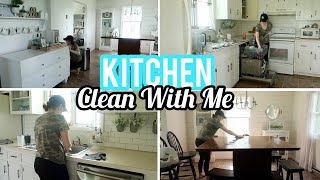 Kitchen Clean With Me | Cleaning Motivation | Kitchen Deep Clean