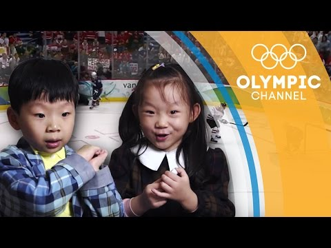 Kids From China Excited By Canada Golden Goal In Vancouver 2010 | Kids Call